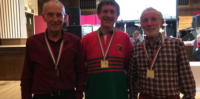 Gold for Welsh M75 team