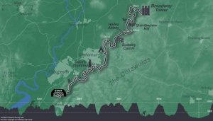 RttT route and elevation