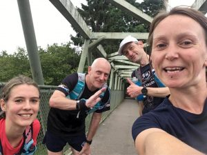 North Worcestershire Path - bridge runfie